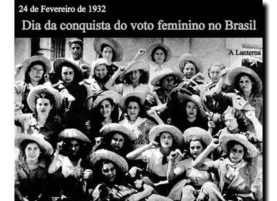 83 anos da conquista do voto feminino no Brasil