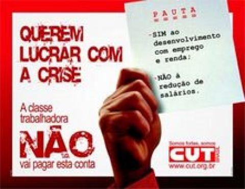 CUT promove Dia Nacional de Luta nesta quarta