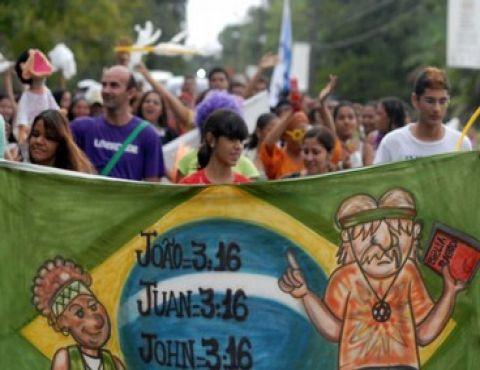 Marcha pela Paz abre Fórum Social Mundial 2009