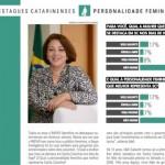 Ideli Salvatti é a personalidade feminina em Santa Catarina, de acordo com o Anuário IMPAR