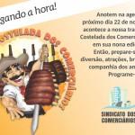 9ª Costelada dos Comerciários de Tubarão e Região. Participe!