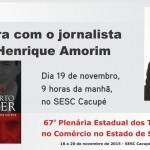 Palestra de Paulo Henrique Amorim em Florianópolis