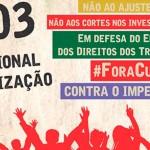 DIA NACIONAL DE MOBILIZAÇÃO – 31 DE MARÇO