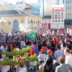 Trabalhadores e trabalhadoras de Santa Catarina celebram dia 1º de maio com luta