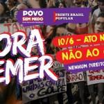 Florianópolis terá ato contra o golpe no dia 10