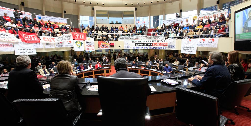 Audiência Pública debate direitos trabalhistas e os atentados do governo Temer aos trabalhadores