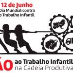 12 de junho é o dia Mundial contra o Trabalho Infantil