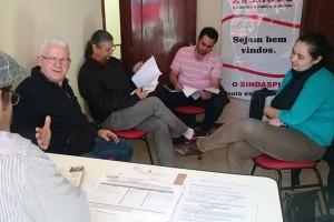 Dieese - assessoria Sindaspi e Sinte SC