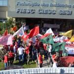 Atos em todas as regiões do país defendem emprego e direitos