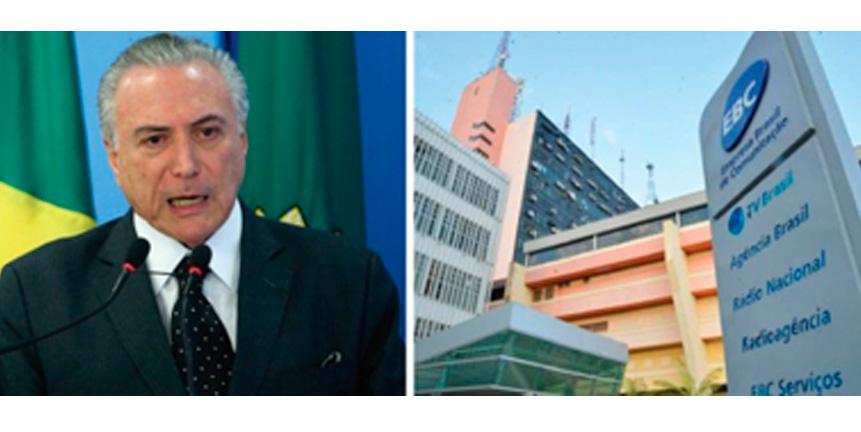 Governo golpista promove mais um ataque à EBC