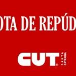 Moção de repúdio da CUT-SC contra juíza do trabalho