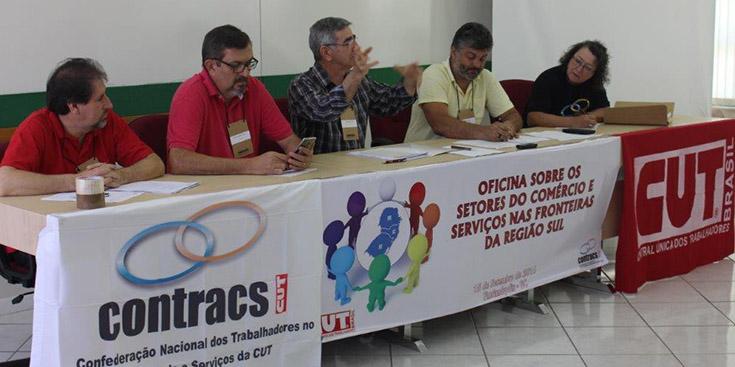 CONTRACS reúne dirigentes do setor de comércio e serviço das regiões de fronteira do Sul