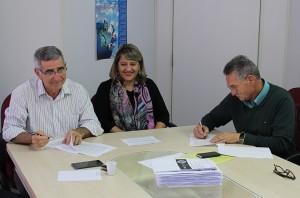 Assinatura do contrato 2