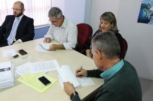 Assinatura do contrato 3