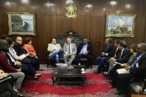 Presidente do Senado reafirma posição contra a ampliação da terceirização