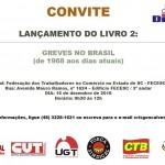 Lançamento de livro sobre greves no Brasil será realizado na FECESC