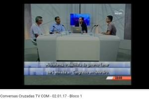 Conversas Cruzadas TV COM - 02.01.17 - Bloco 1