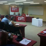 Dirigentes debatem Democracia e Fortalecimento da CUT