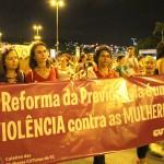 Santa Catarina em tom de lilás na luta contra a Reforma da Previdência