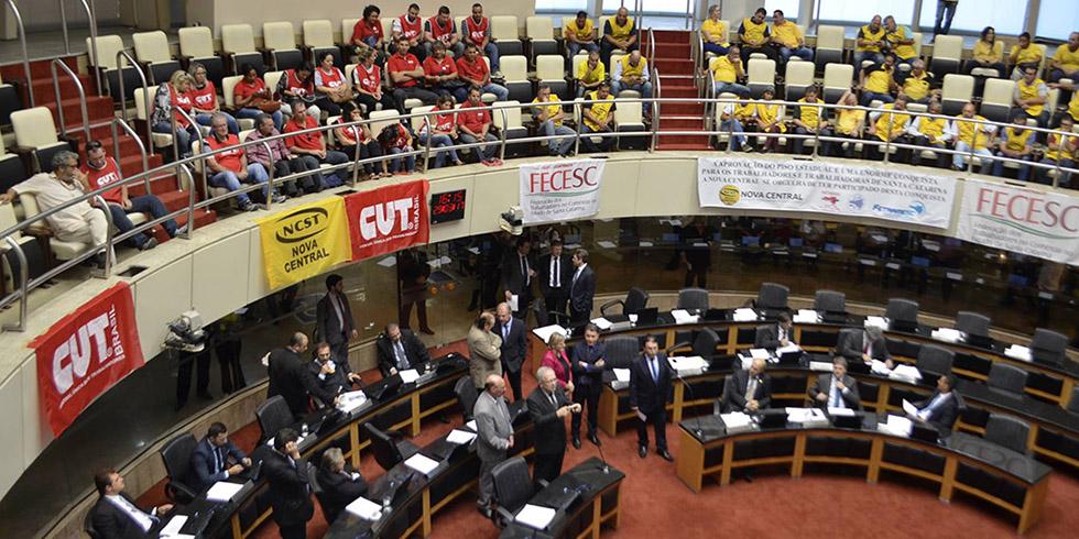 Aprovado na Assembleia Legislativa o novo Piso Salarial Estadual para 2017