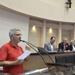 Trabalhadores ocupam a Alesc contra as reformas de Temer