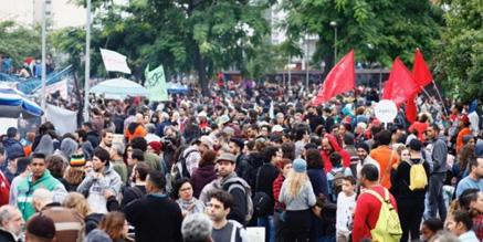 A maior greve geral do Brasil
