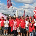 #OcupaBrasília foi a senha para os trabalhadores brasileiros ocuparem o Brasil