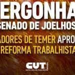 Golpistas aprovam Reforma Trabalhista, sem alterações
