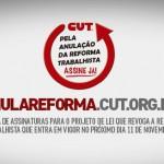 Coleta de assinaturas para Projeto de Lei de Iniciativa Popular