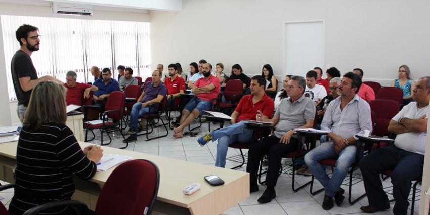 Reunião Diretoria da FECESC 19 e 20 out