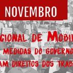 Brasil se une contra os retrocessos do Governo Temer neste 10 de novembro