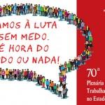 70ª Plenária Estadual da FECESC debate rumo do movimento dos trabalhadores com contrarreforma trabalhista