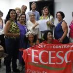 Frente de Mulheres entrega manifesto pela Democracia na Justiça Federal