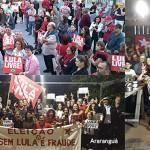 Atos em SC e no Brasil lançaram pré-candidatura de Lula à Presidência