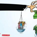 Em 2017, R$ 354,8 bilhões saíram do bolso dos trabalhadores para pagar bancos