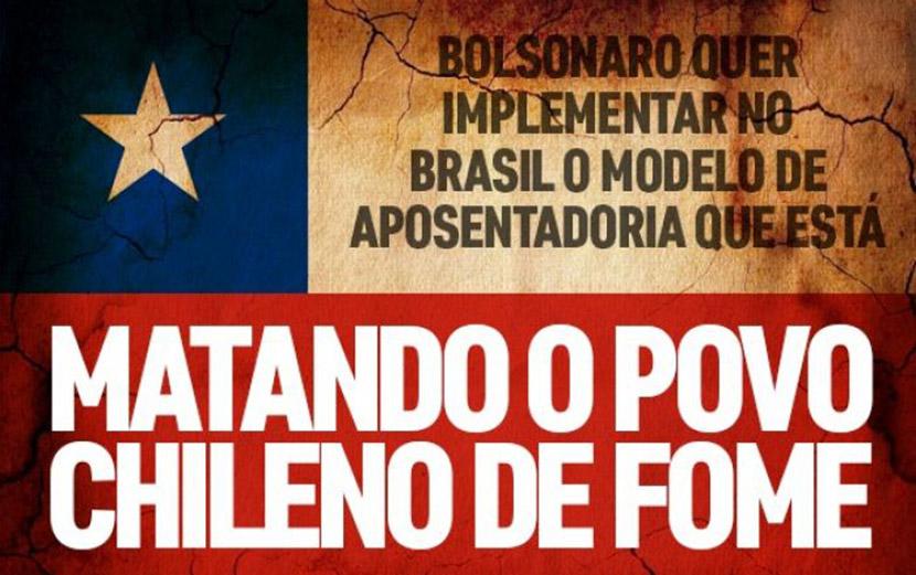 Modelo de Previdência proposto por Bolsonaro levou idosos do Chile à miséria