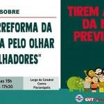 Assembleia nacional prepara resistência à reforma da Previdência