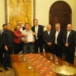 Governador recebe Acordo do Piso Salarial de representantes dos trabalhadores e empresários