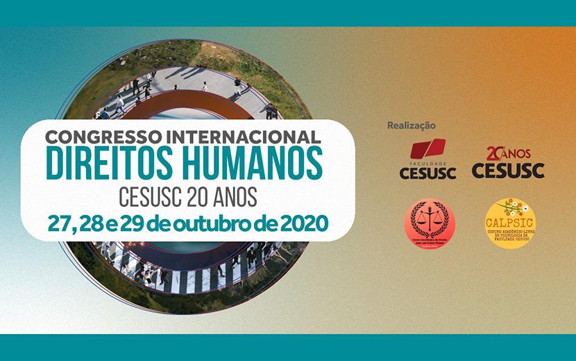 CESUSC promove Congresso Internacional de Direitos Humanos