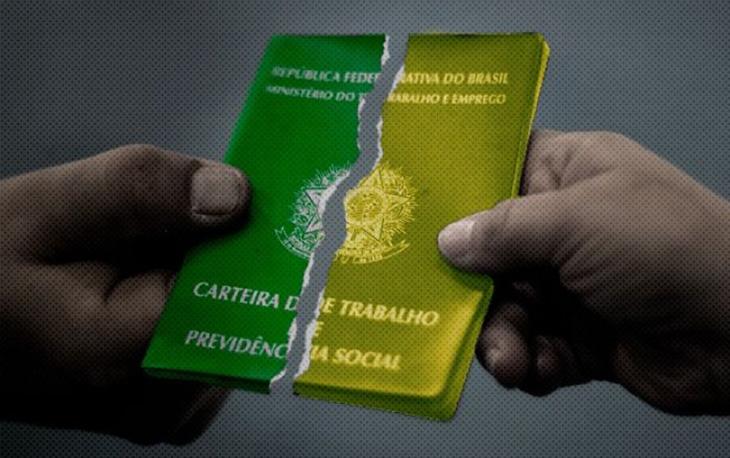 Carteira Verde Amarela piora crise econômica, avaliam presidente da CUT e Dieese