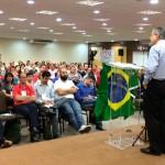 Imprensa acompanha debate de Amorim na 67ª Plenária da FECESC