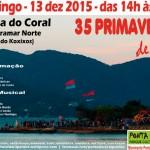 Florianópolis celebra 35 primaveras de luta pela Ponta do Coral!
