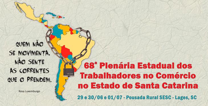 68ª Plenária Estadual reúne dirigentes do comércio e serviços em Lages