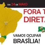 #OcupaBrasília – Todos os caminhos levam ao FORA TEMER e às DIRETAS JÁ!