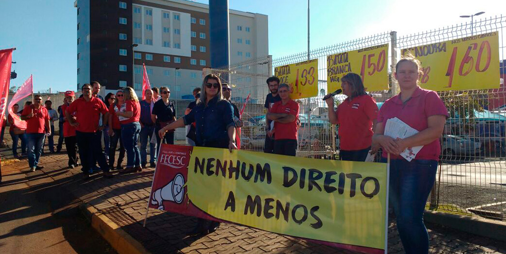 Dirigentes denunciam irregularidades praticadas pelo grupo Walmart em Chapecó