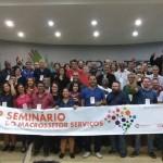 Seminário Nacional reúne ramos profissionais do setor de serviços