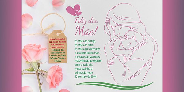 Feliz dia, Mãe!