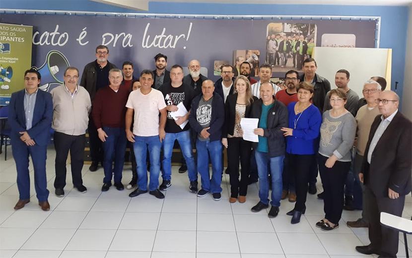União de forças para defender direitos dos trabalhadores em concessionárias de SC