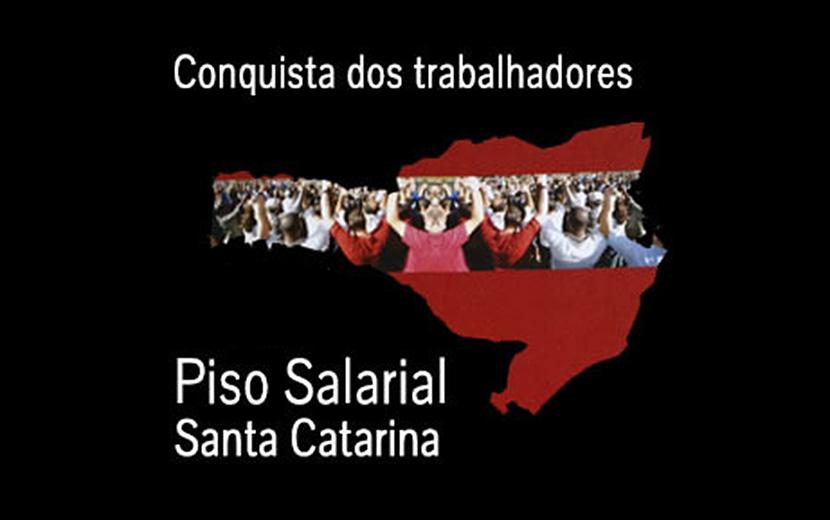 Movimento sindical está mobilizado pelo reajuste do Piso Estadual de Santa Catarina em 2021